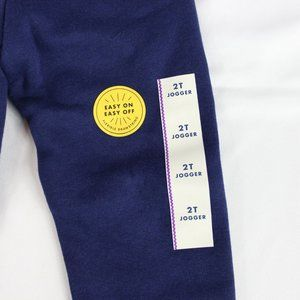 Cat & Jack Bottoms - Cat & Jack Toddler Navy Blue Jogger Sweatpants 2T